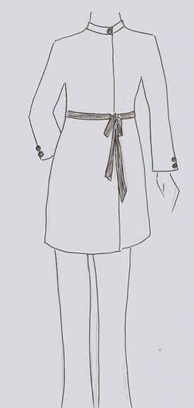Sketsa Baju Muslim