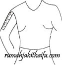 panjang lengan pendek Cara mengukur badan wanita dewasa