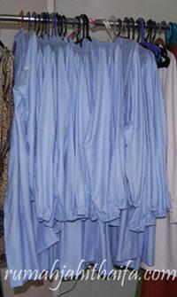 seragam blouse biru