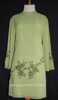 blouse aksen bordir aplikasi
