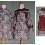 Order jahitan sarimbit batik yang kedua dari Ibu Enni L. di Norwegia