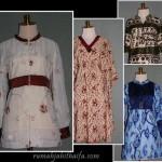 7 blus batik order jahitan Ibu Triyanti di Bandung