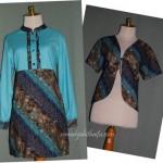 Order jahitan blouse dan bolero batik Ibu Laksita di Yogya