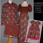 Sarimbit batik order jahitan Ibu Della di Kreo