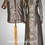 Sarimbit dari bahan saree order jahitan Ibu Ratri di Bintaro
