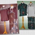 Sarimbit batik order jahitan dari Ibu Ika Dewo di Sum-Sel