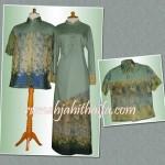Sarimbit batik doby keluarga Ibu Dyan Ari di Bali