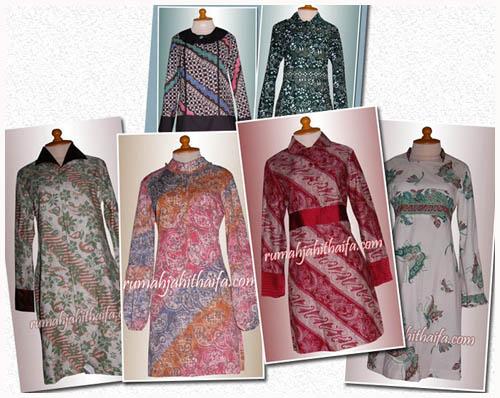blouse batik  Rumah Jahit Haifa  Part 3