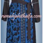 gamis muslimah dari kain batik tulis milik Mba  Khusnul di Cikarang