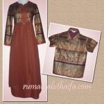 Gamis dan baju batik anak Ibu Yani di Pekanbaru