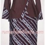 Jahitan setelan blus dan rok batik dari ibu Nadia di Bengkulu