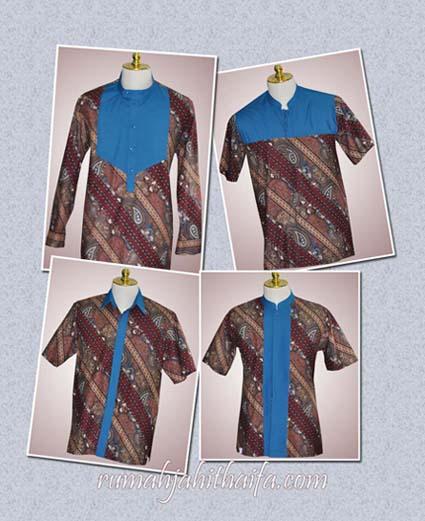 Model Baju Batik Sarimbit Untuk Pakaian Seragam Keluarga: Sarimbit Batik Keluarga Besar Mba Muthia Di Tangerang