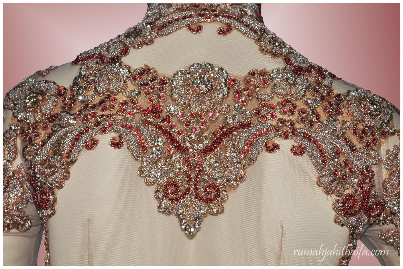 Kebaya pengantin Mba Dila di Jakarta (1)  f94e720313