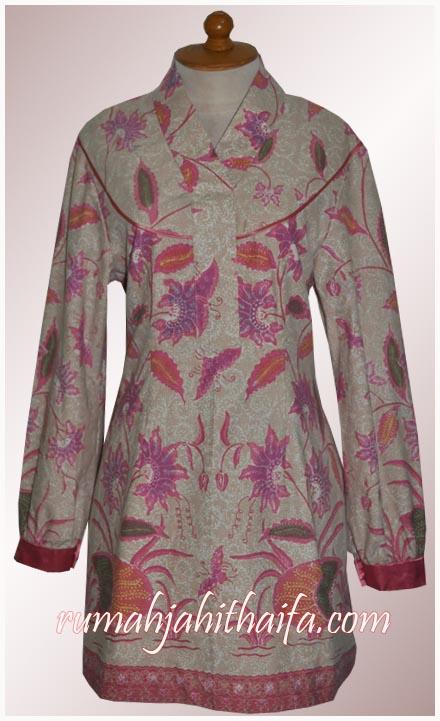 Blouse batik Ibu Sita 4