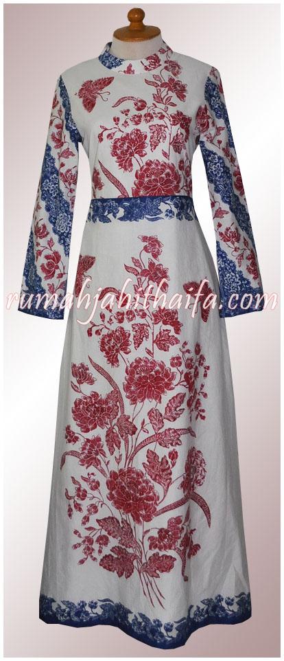 Baju Batik Gamis Pesta Batik Prasetyo New Style For 2016