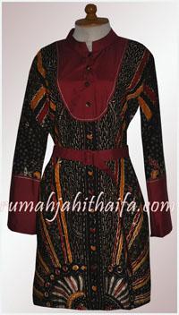 blouse batik order jahitan Ibu Riene