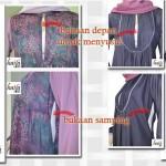 New ! Gamis hamil dan ibu menyusui di toko busana muslim online Haifa Gallery