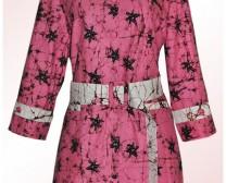 jahit atasan semi blazer batik