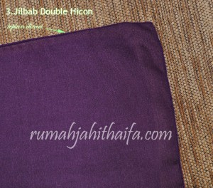 jilbab double hicon tepian dineci