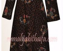 Gamis Batik Ibu Yuyun S 2