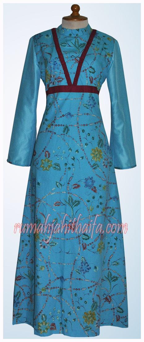 4 Gamis Batik Order Dari Ibu Yuyun S Di Kalimantan Rumah