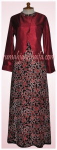 Gamis Batik Ibu Yuyun S 4
