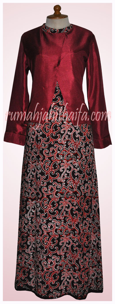 Model Gamis Batik Holidays Oo