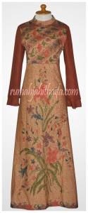 gamis batik Ibu Listya 2