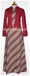 gamis batik bolero Ibu Listya 3