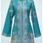 Gamis batik & Loose blazer Ibu Yustia