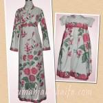 Gamis batik dan dress batik anak dari kain batik encim Ibu Mia Wibowo di Jakarta