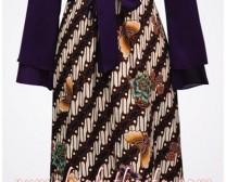 gamis batik Ibu Listya