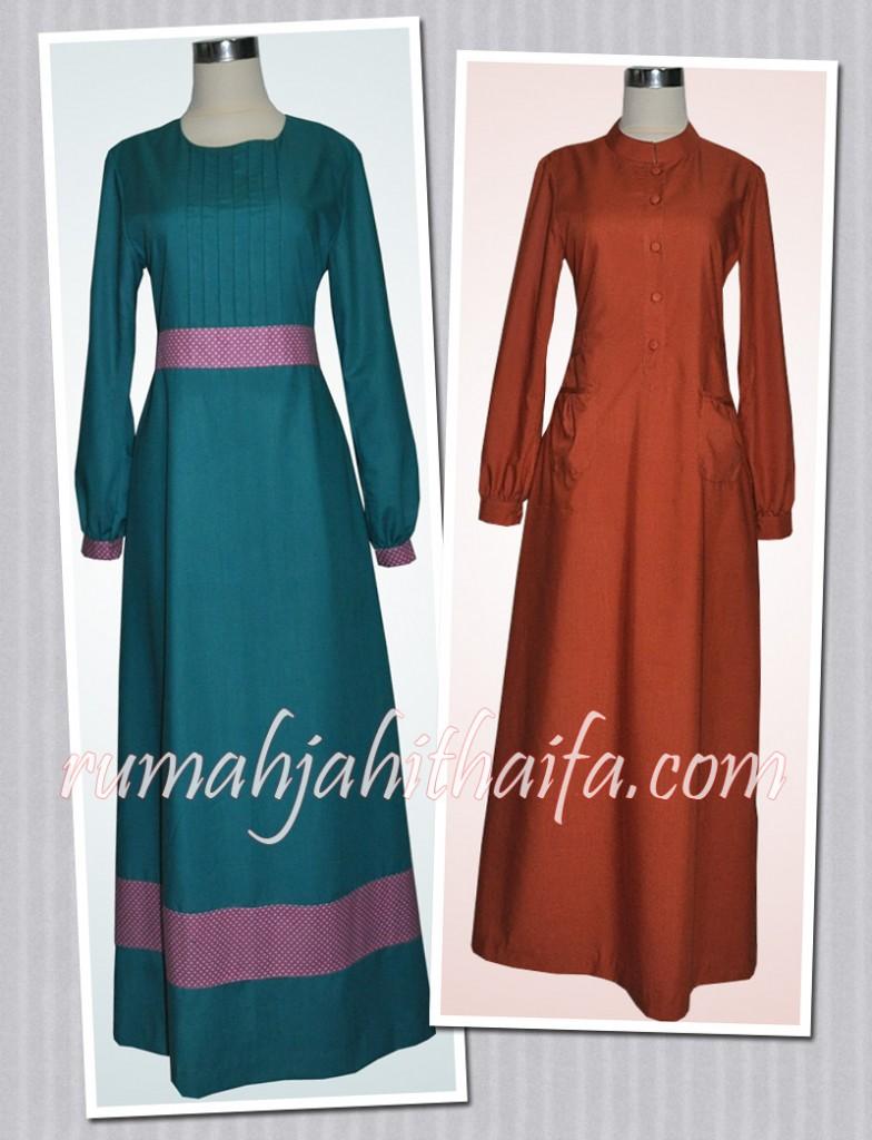 Batik sasirangan rumah jahit haifa Baju gamis ninos