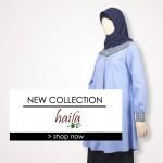 Koleksi terbaru Tunik dan Blouse Haifa