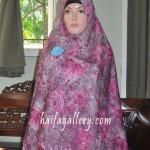 Apa itu jilbab semi instan haifa ?