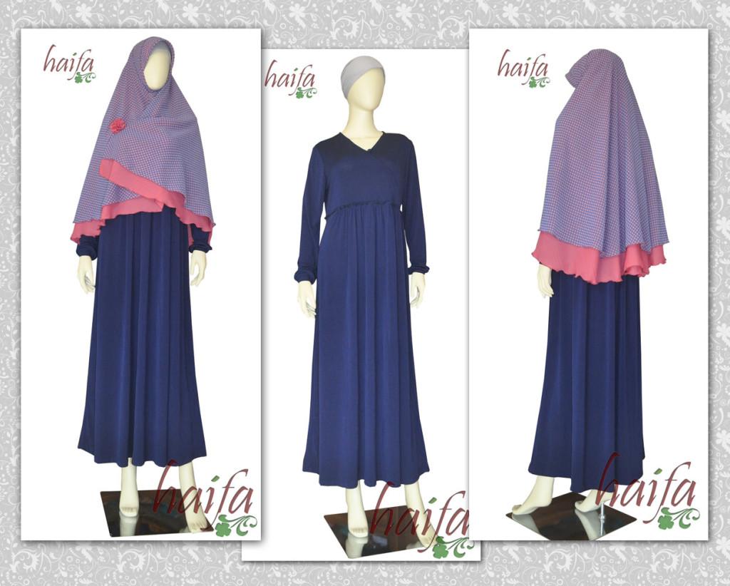 gamis untuk badan gemuk info tren hijab tips dan contoh