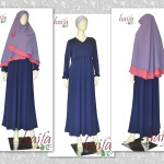 Mix & Match – Set Gamis Jersey Haifa