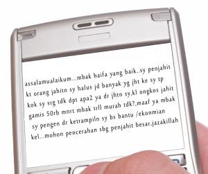 SMS-Penjahit