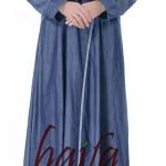 berapa kain yang dibutuhkan untuk membuat gamis A Line Haifa