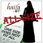Gamis Haifa Bukan Gamis All Size ! ini sebabnya…..