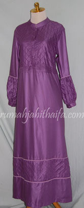 gamis muslimah warna ungu