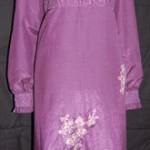 Order jahitan gamis dan blouse Ibu Linda di Kalimantan
