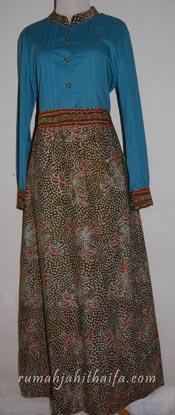 jahit gamis batik