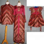 Sarimbit batik order jahitan untuk Ibu Novi di Bandung