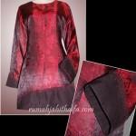 2 blouse order jahitan dari Ibu Endang di JKT