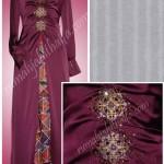 Order jahitan gamis dari Ibu Hyda di Temanggung