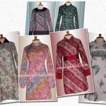 Blouse batik order jahitan Ibu Yustia di Jakarta