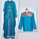 sarimbit batik+sifone silk order jahitan dari Ibu Liza di Bengkulu
