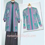 Seragam batik haji order jahitan dari Ibu Tanti di Jakarta