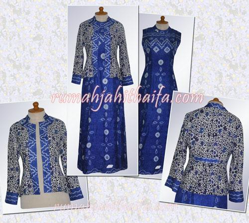 Order Jahit Gamis Sasirangan Blazer Batik Ibu Fina Di Yogya Rumah Jahit Haifa